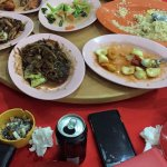 Restaurant Oriental, dishes to share between friends