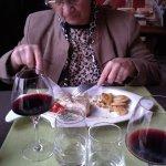 le vin est excellent aussi même en carafe