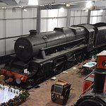 Black 5 at Highley Museum
