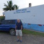 Postkontoret på Chuuk.