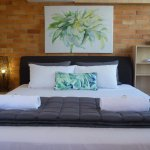 Master Bedroom (King Bed), Ocean View. Ground floor one or two bedroom apartment.