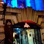 The main entrance to The London Dungeons really sets the atmosphere to what's waiting inside.