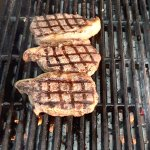 Charcoal Grilled Steaks