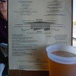 Menu and Beverage