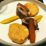 Lamb Loin with Bhajia Potatoes