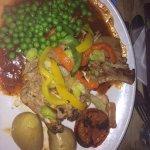 Pork chop with yummy sauce