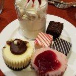 Dessert sampling!