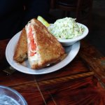 Grilled cheese with tomato/side of slaw