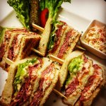 """""""Pastrami"""" Clubsandwich"""