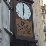 The old clock at The Brass Door.