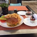 Beverly Hilton Grass Fed Beef Burger