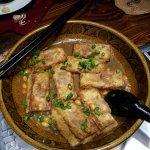 Pan Fried Stuff Bean Curd (Tofu)