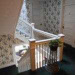 The quaint stairwells and wallpaper made me feel like an honored guest in someone's home!