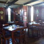 Dining side of Jolly Drayman Pub