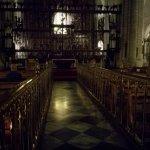 Interno della cattedrale, pultroppo c è poca luce ma è molto bella