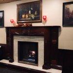 Tony R's has 3 beautiful fireplaces