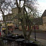 View from the Red Lion pub at Crich Tramway Village