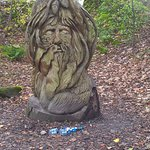 Carving on the Woodland Walk
