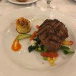 filetto di bovino con verdure