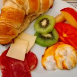 Just one of the fabulous breakfasts at InPatio Guest House.