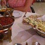 Keema Pathia and Garlic and coriander nan - The Best !