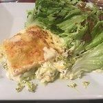 lasagne au chèvre et courgettes