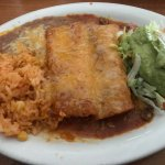 Cheese & Beef Enchiladas with Guac