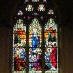 stain-glass window
