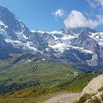 On the trail to Kleine Scheidegg