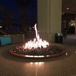 There are nice fire rings all around the pool for relaxing after your swim.
