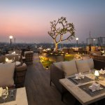 Dining at the Skyline, rooftop of Tirant hotel