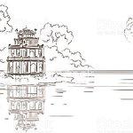 Close by Hoan Kiem lake, heart of Hanoi