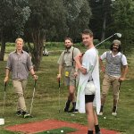 Mel and her staff at pitch and putt have done job  at running a fun activity for a stag event fo