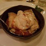 Yummy eggplant rollatini appetizer...delish!