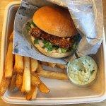 Fish Burger menu