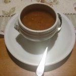 Deftige Goulaschsuppe als Gruss aus der Küche