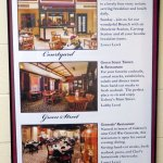 a description of the three restaurants in the DeSoto House Hotel