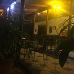 Outside seating area... beware for mozzies & sandflies