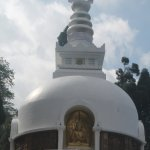 Japanese temple peace pagoda