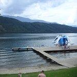 pontile lago