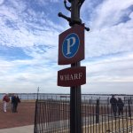 Wharf at Battery Park.
