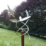 sculpture in the wind