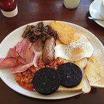 The Big 7 Breakfast (Black Pudding is extra)