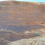 petroglyphs rock