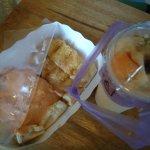 ขนมปังปิ้งเนยนม กับสังขยา อร่อยมากก