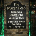 Wonderful time at the Brazen Head Pub storyteller was entertaining. A fantastic time at Ireland'