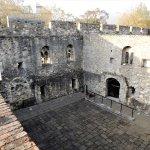 King John's palace from Garden