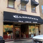 front of Cannova's Pizzeria
