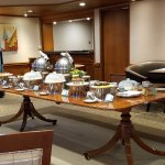 Food and beverage on executive floor, free of charge
