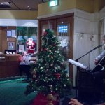 Our entertainer Scott singing contemproray songs and some christmas tunes to the ids.